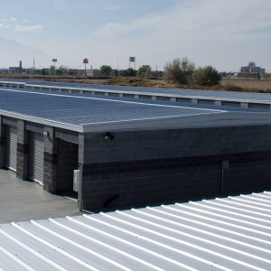 Overhead view of our modern storage facility in Springville, UT