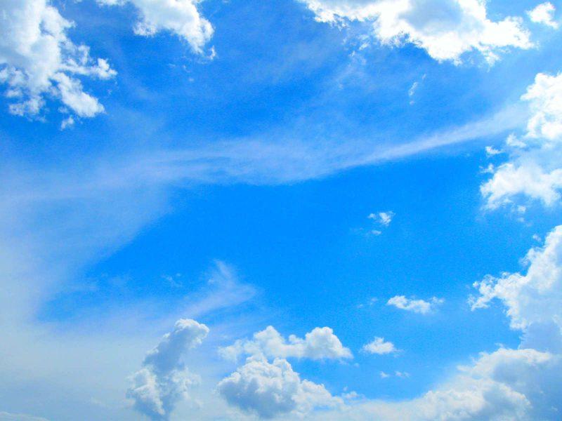 Clean Air Blue Sky